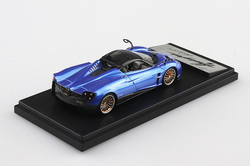 SKYNET 1/43 ザ・ミニカー PAGANI Huayra Roadster ブルー