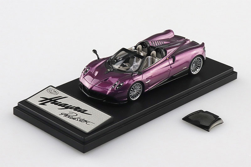 SKYNET 1/43 ザ・ミニカー PAGANI Huayra Roadster パープル