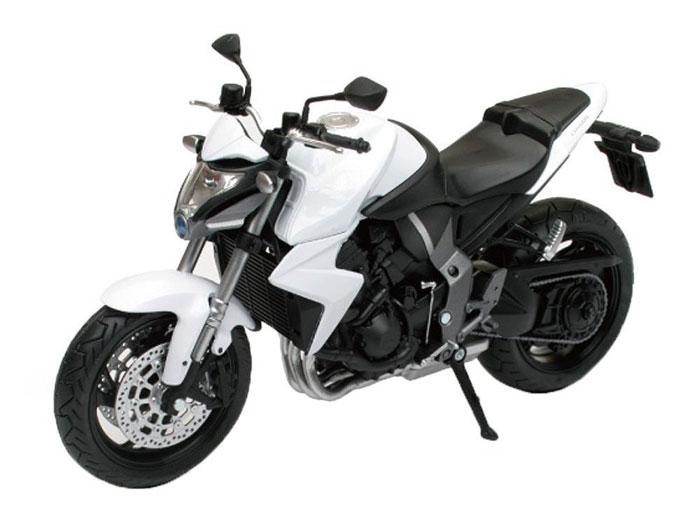 アオシマ プラモデル 1/12 完成品ダイキャストバイク Honda CB1000R ホワイト