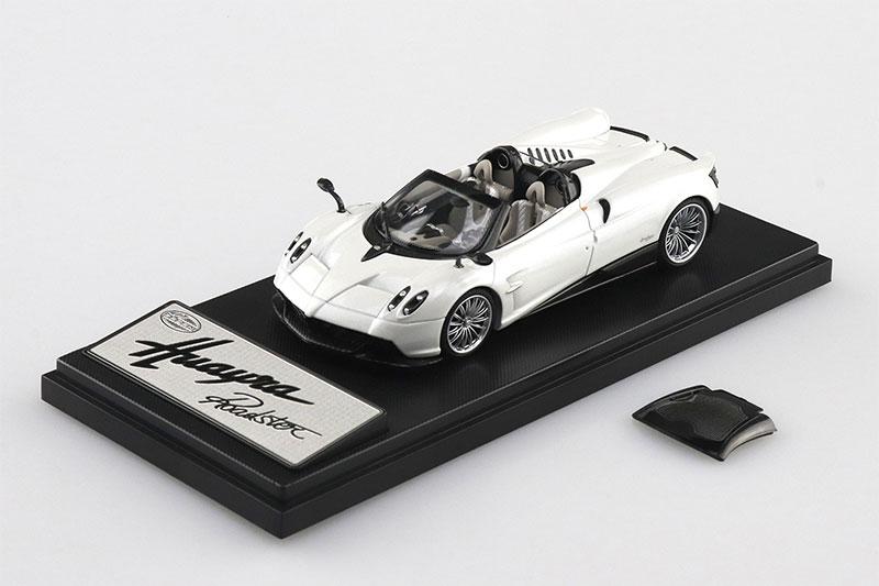 SKYNET 1/43 ザ・ミニカー PAGANI Huayra Roadster ホワイト
