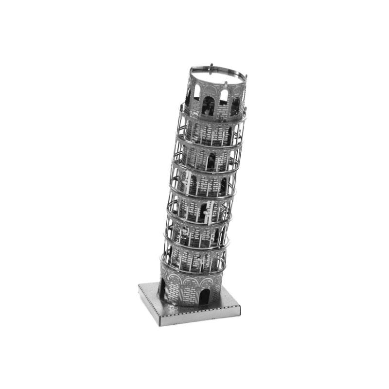 【ネコポス送料無料】 メタリックナノパズル ピサの斜塔 TMN-25