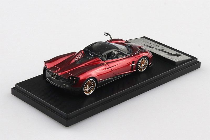 SKYNET 1/43 ザ・ミニカー PAGANI Huayra Roadster レッド