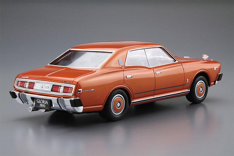 アオシマ 1/24 ザ・モデルカー No.53 ニッサン P332 セドリック/グロリア4HT280Eブロアム '78