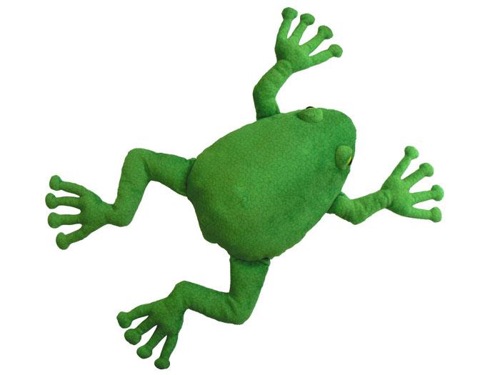 アドベンチャーシリーズ カエルのポケットティッシュクッション