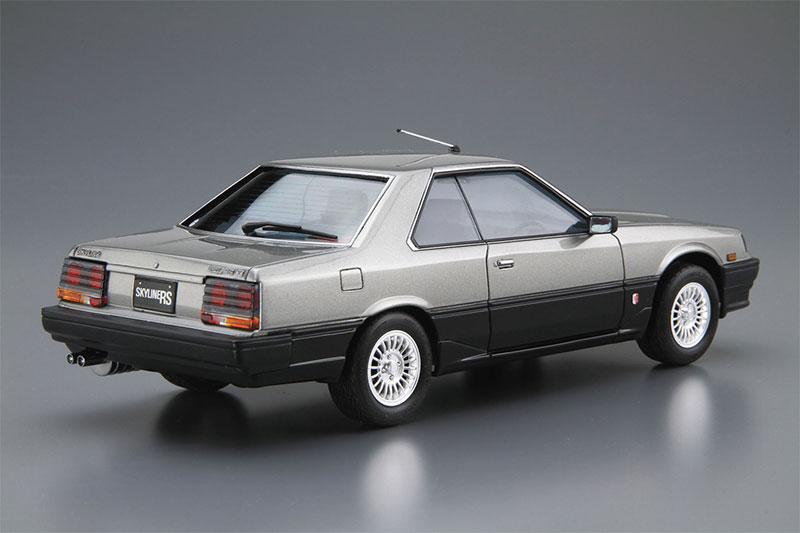 アオシマ 1/24 ザ・モデルカー No.59 ニッサン DR30 スカイラインHT2000ターボインタークーラーRS・X '84