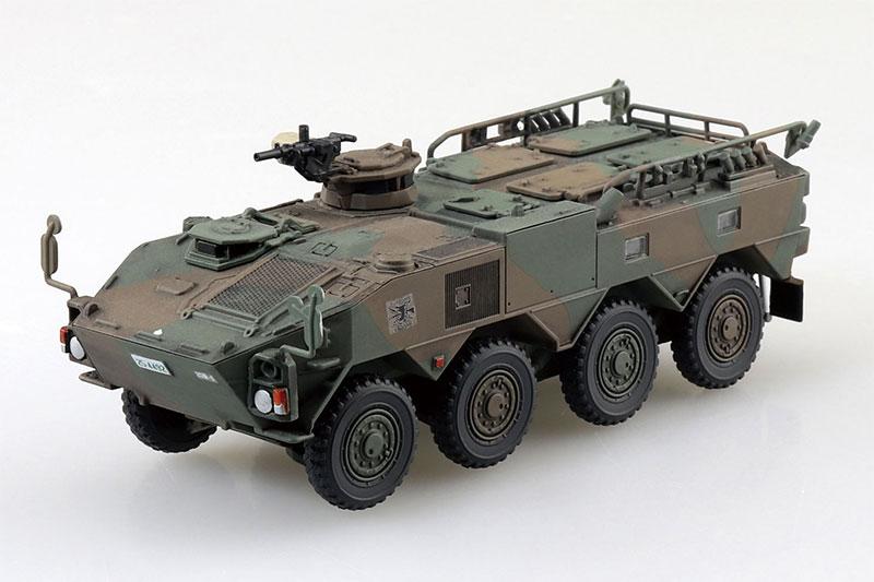 アオシマ 1/72 ミリタリーモデルキット No.22 陸上自衛隊 96式装輪装甲車A型
