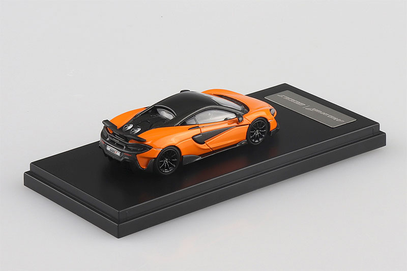 SKYNET 1/43 ザ・ミニカー マクラーレン 600LT マクラーレンオレンジ