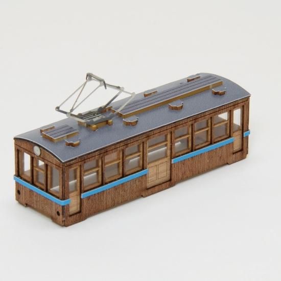 【ネコポス送料無料】 ウッディジョー 懐かしの木造電車&機関車 Nゲージ No.1 電車1 【代引き不可、他商品との同梱不可】
