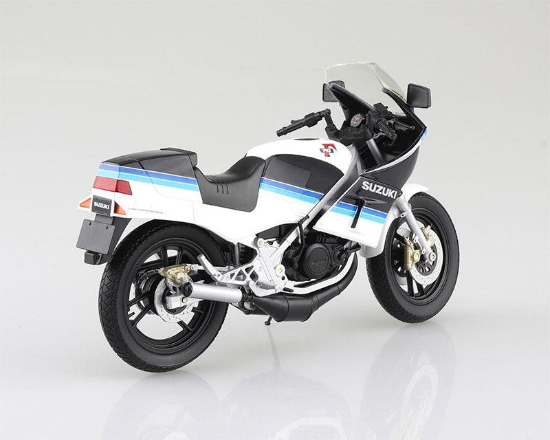 SKYNET 1/12 完成品バイク SUZUKI RG250Γ ブルー×ホワイト