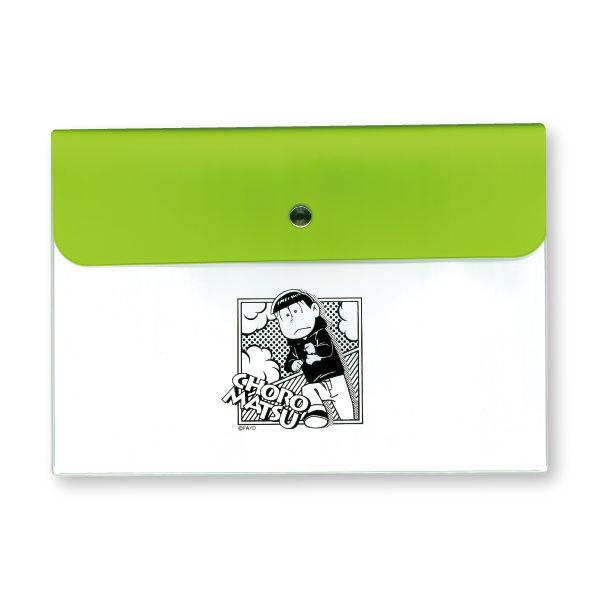 【ネコポス送料無料】 おそ松さん バイカラーマスクケース チョロ松 【代引き不可、他商品との同梱不可】
