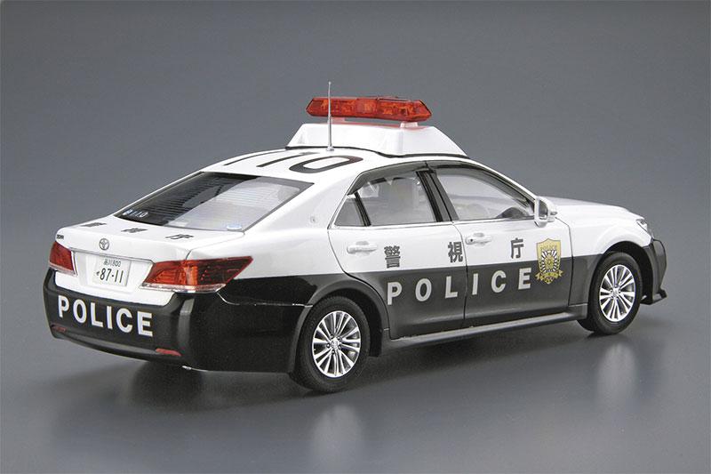 アオシマ プラモデル 1/24 ザ・モデルカー No.129 トヨタ GRS210 クラウンパトロールカー 警ら用 '16