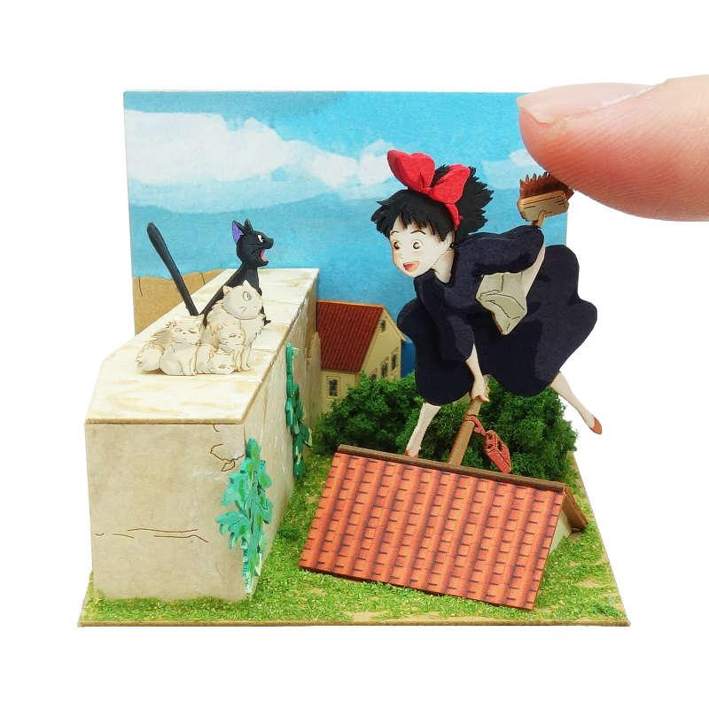 さんけい みにちゅあーとキット スタジオジブリmini 魔女の宅急便 キキとジジの家族 MP07-125