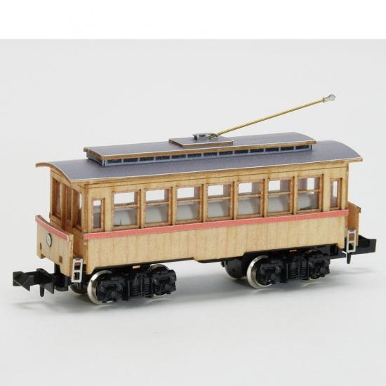 【ネコポス送料無料】 ウッディジョー 懐かしの木造電車&機関車 Nゲージ No.2 電車2 【代引き不可、他商品との同梱不可】