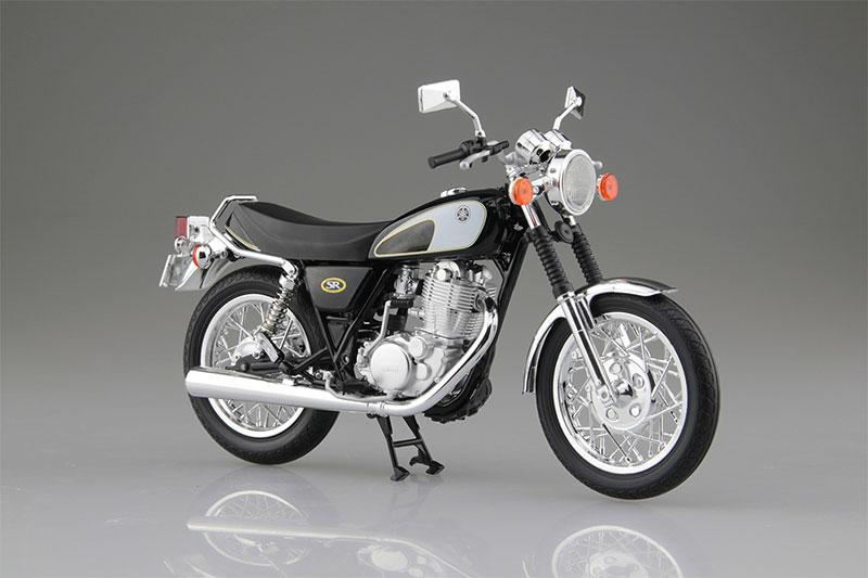 SKYNET 1/12 完成品バイク YAMAHA SR400&500 グリタリングブラック