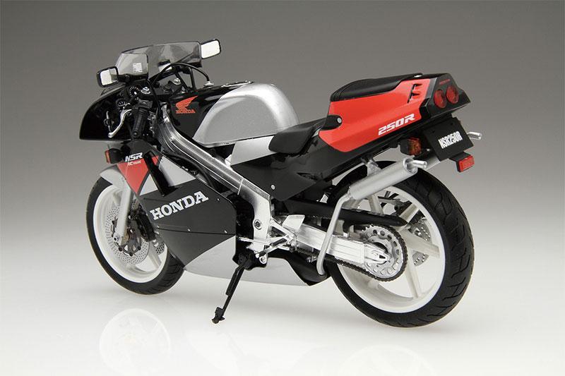 アオシマ プラモデル 1/12 バイク No.60 ホンダ'89 NSR250R