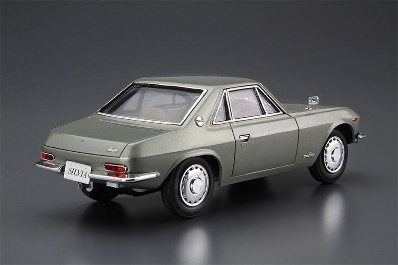 アオシマ プラモデル 1/24 ザ・モデルカー No.66 ニッサン CSP311 シルビア '66
