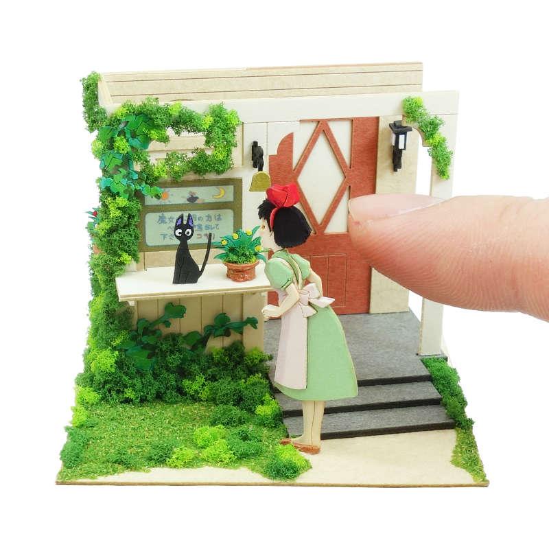 さんけい みにちゅあーとキット スタジオジブリmini 魔女の宅急便 出発の日 MP07-122