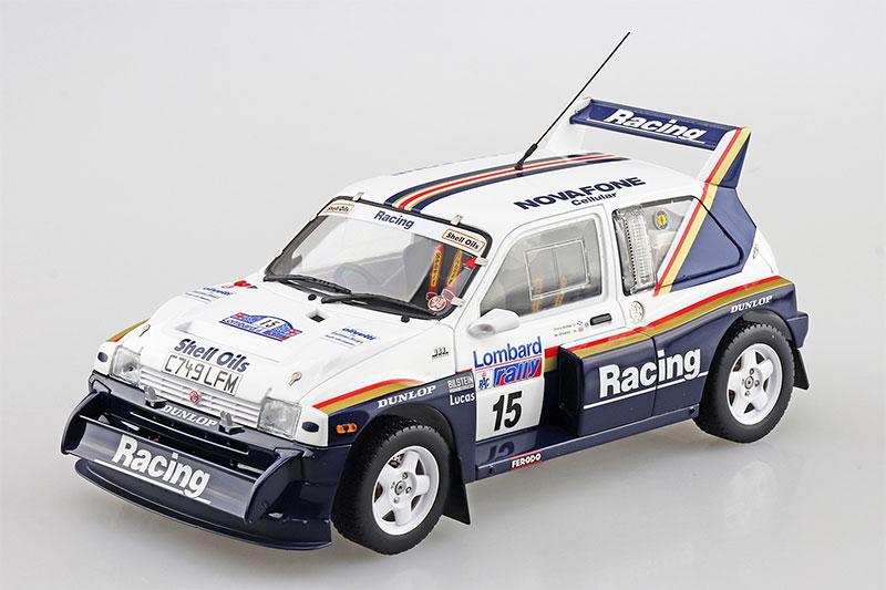 アオシマ 1/24 ベルキット No.16 MG METRO 6R4 LOMBARD RAC RALLYE 1986 Jimmy McRae/Ian Grindrod