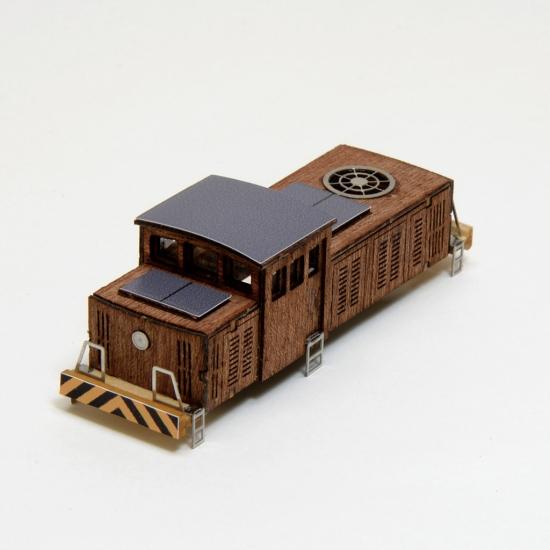 【ネコポス送料無料】 ウッディジョー 懐かしの木造電車&機関車 Nゲージ No.7 機関車 【代引き不可、他商品との同梱不可】