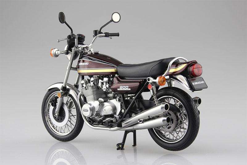 SKYNET 1/12 完成品バイク KAWASAKI 900Super4 Z1 玉虫マルーン