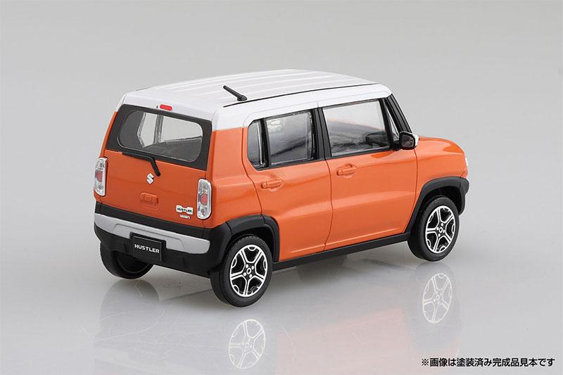 アオシマ プラモデル 1/32 ザ・スナップキット No.1-C スズキ ハスラー パッションオレンジ