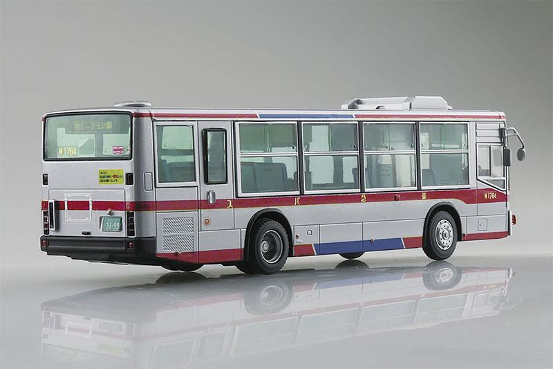 アオシマ プラモデル 1/80 ワーキングビークル No.5 三菱ふそう MP38エアロスター 東急バス