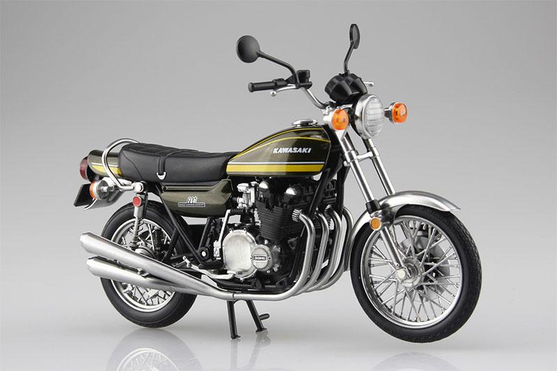 SKYNET 1/12 完成品バイク KAWASAKI 750RS Z2 イエロータイガー