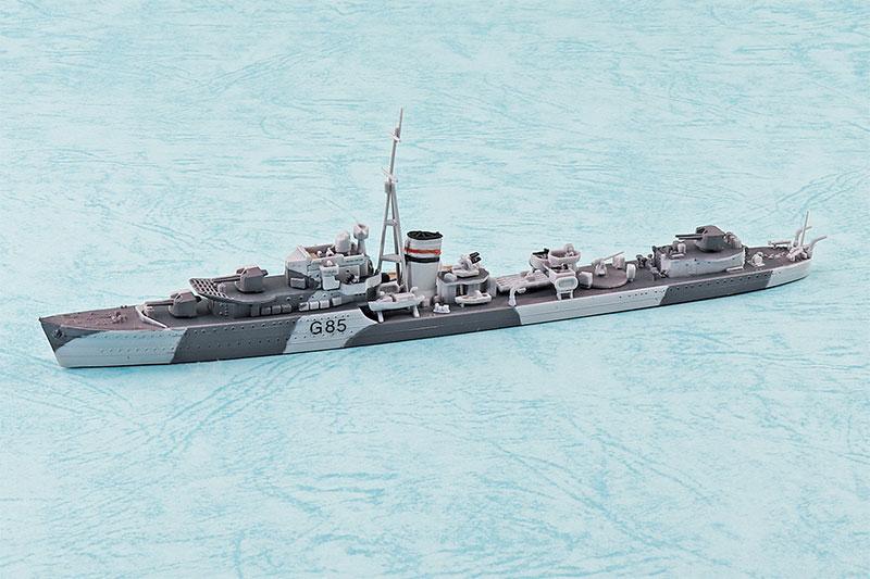 アオシマ プラモデル 1/700 ウォーターライン No.915 英国海軍 駆逐艦 ジュピター