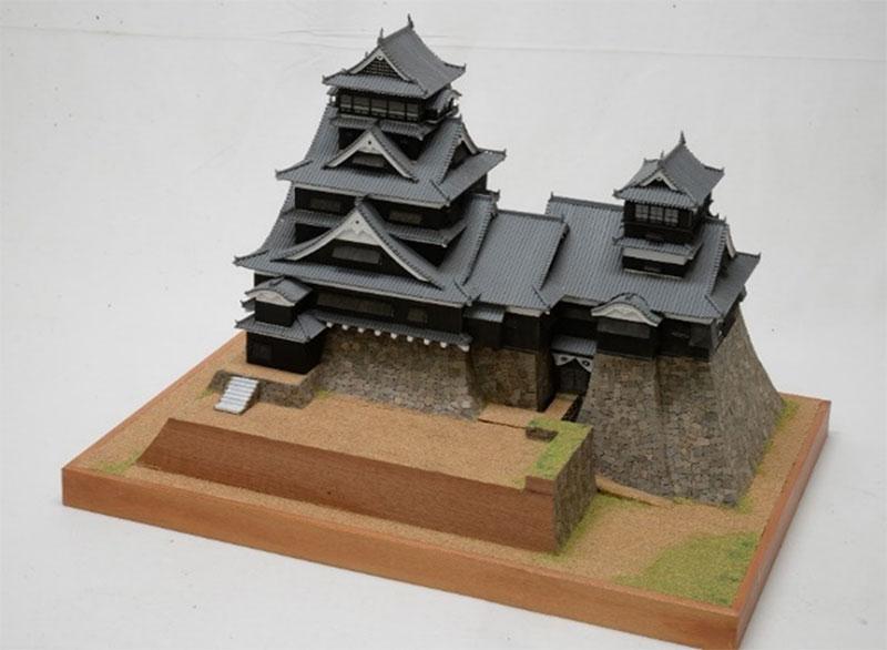 ウッディジョー 1/150 熊本城 改良版