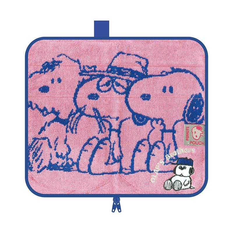 【ネコポス送料無料】 どっとポーチ スヌーピー キープ オラフ ピンク BA 【代引き不可、他商品との同梱不可】