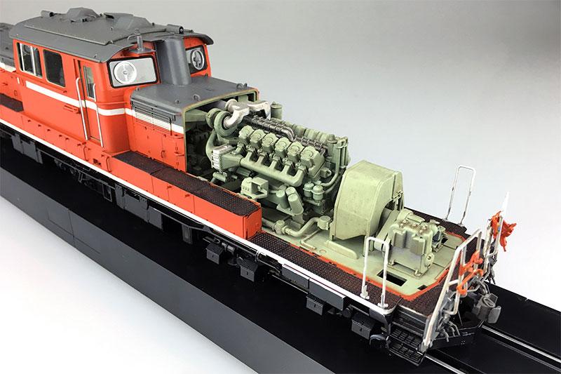 アオシマ プラモデル 1/45 トレインミュージアムOJ No.2 ディーゼル機関車 DD51 標準仕様