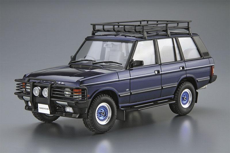 アオシマ 1/24 ザ・モデルカー No.SP ランドローバー LH36D レンジローバー クラシック カスタム '92
