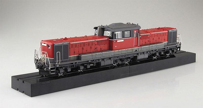 アオシマ プラモデル 1/45 トレインミュージアムOJ No.3 ディーゼル機関車 DD51 更新色 スーパーディテール