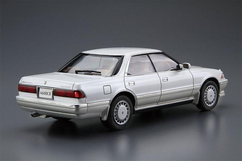 アオシマ プラモデル ザ・モデルカー No.63 1/24 トヨタ GX81 マークII2.0グランデツインカム24 '88