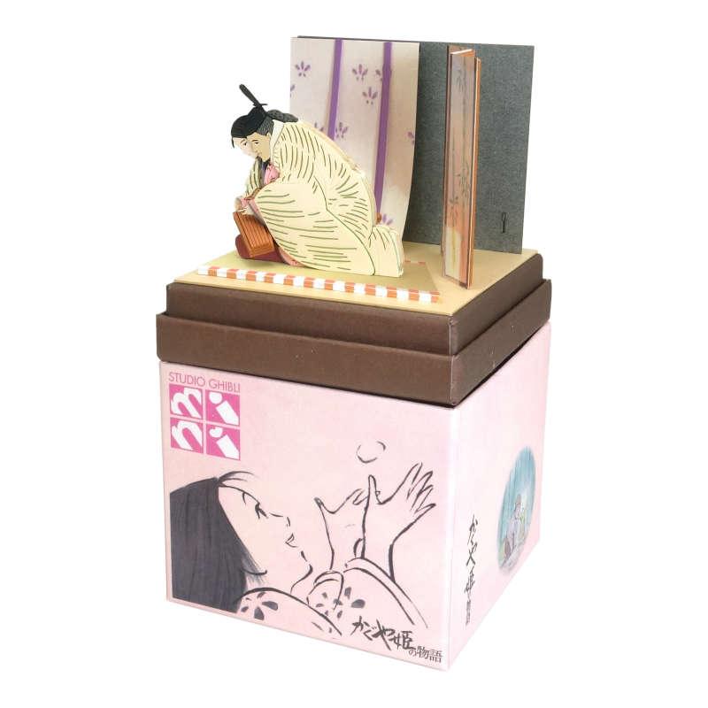 さんけい みにちゅあーとキット スタジオジブリmini かぐや姫の物語 御門とかぐや姫 MP07-109