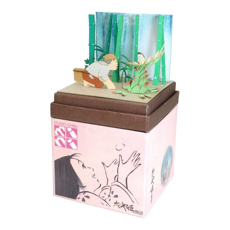 さんけい みにちゅあーとキット スタジオジブリmini かぐや姫の物語 かぐや姫の誕生 MP07-106