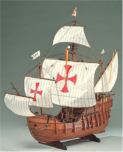 【送料無料】 ウッディジョー 木製帆船模型 1/45 サンタマリア