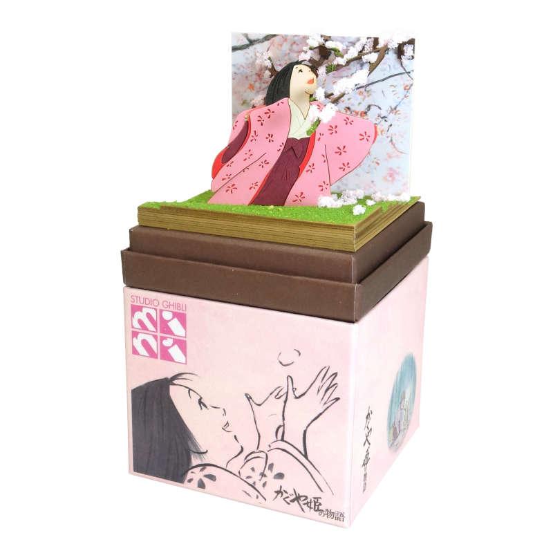 さんけい みにちゅあーとキット スタジオジブリmini かぐや姫の物語 山桜の木の下で MP07-108