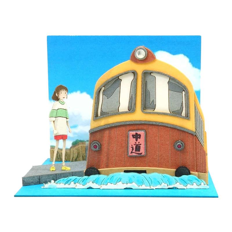 さんけい みにちゅあーとキット スタジオジブリmini 千と千尋の神隠し 海原電鉄がやって来た MP07-119