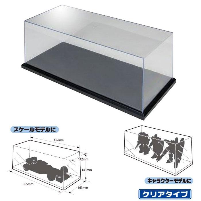 アオシマ コレクションケース 大型ディスプレイケース No.3 マルチディスプレイケースW330 クリアタイプ