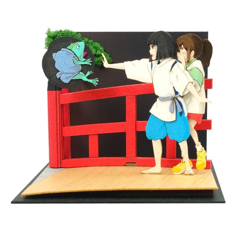 さんけい みにちゅあーとキット スタジオジブリmini 千と千尋の神隠し ハクの呪文 MP07-117