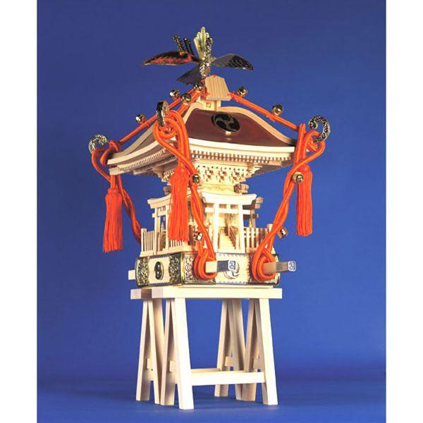 【送料無料】 ウッディジョー 木製模型 1/5 喧嘩神輿