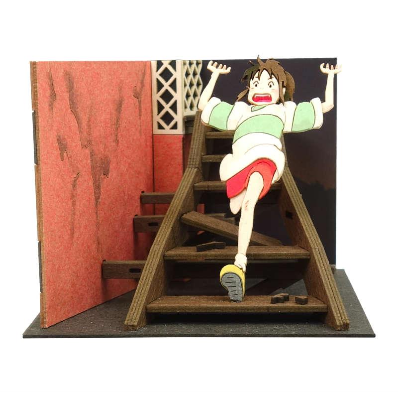 さんけい みにちゅあーとキット スタジオジブリmini 千と千尋の神隠し 階段を走る千尋 MP07-118