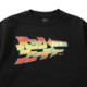 BAIT BACK TO THE FUTURE JAPANESE TITLE CREW SWEAT - 206-BTF-SWT-001