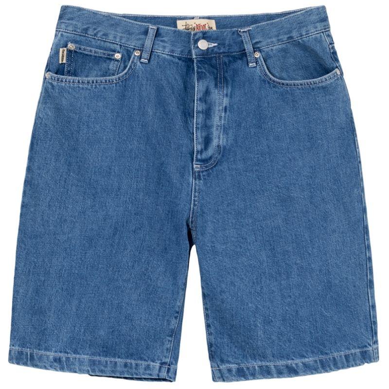 """STUSSY Denim Big Ol Jean Shorts"" - 112263"