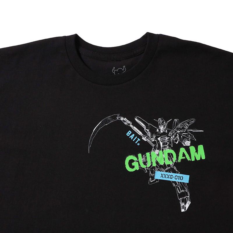 【60%OFF】【GW SALE】BAIT Gundam DEATHSCYTHE SS TEE - 205-GDM-TEE-005