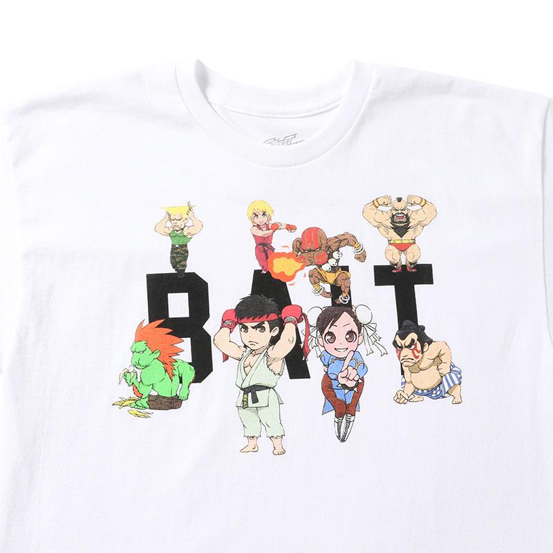 【SALE】BAIT STREET FIGHTER CHIBI GROUP TEE - 205-STF-TEE-003