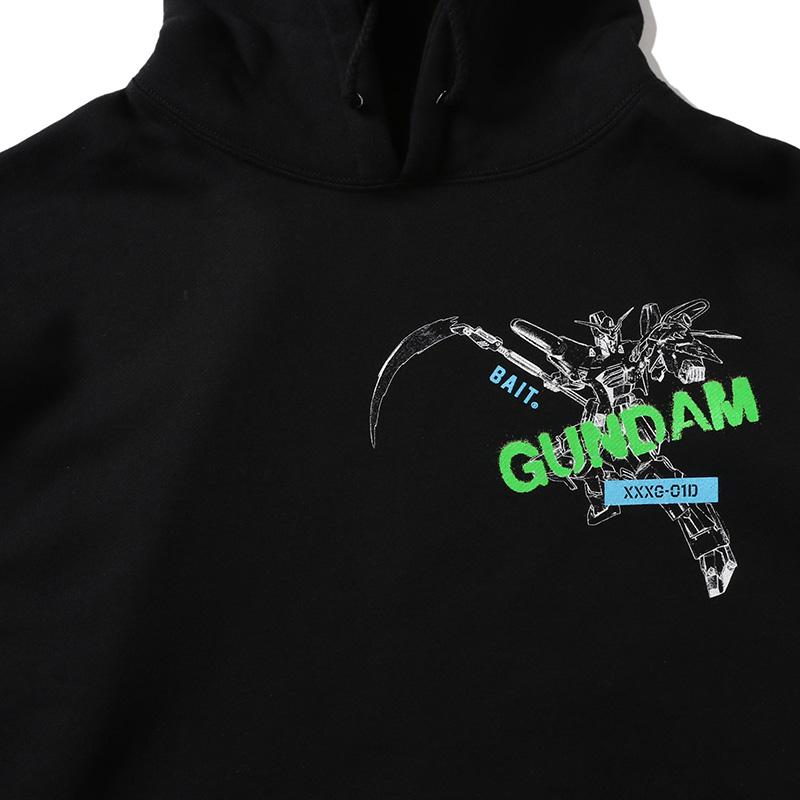 【BUY2GET10%OFF対象】BAIT Gundam DEATHSCYTHE HOODIE - 205-GDM-PRK-003