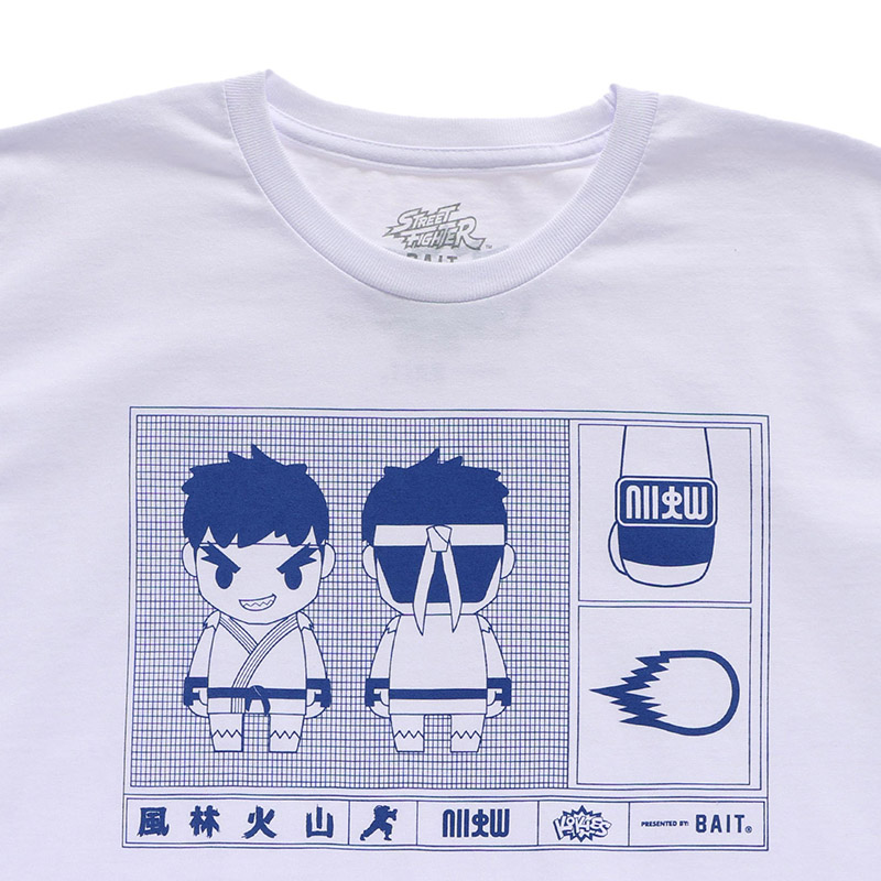 BAIT STREET FIGHTER RYU KOKIES TEE - 207-STF-TEE-002