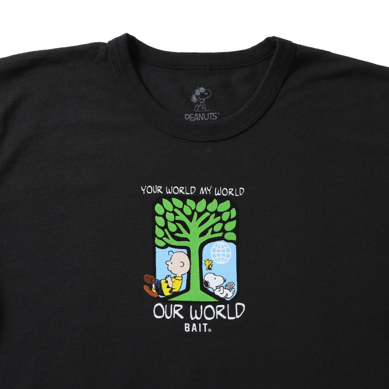 【SALE】SNOOPYxUPCL OUR WORLD TEE - 205-SNP-TEE-009